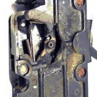 Black FPE Stab-Lok Breaker Melted Internals