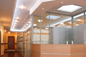Commerical Electrical Lighting - Office Space